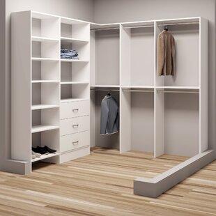 Order Demure Design 81W - 84.25W Closet System ByTidySquares Inc.