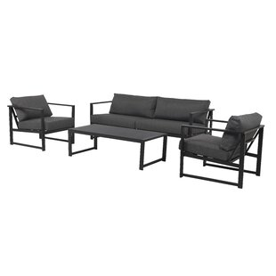 Christon 4 Seater Sofa Set By Sol 72 Outdoor