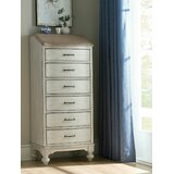 Jaelyn 6 Drawer Lingerie Chest by One Allium Way®