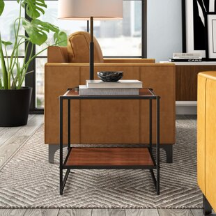 Buying Edgar Set of Two 20 Inch Square Side Tables/Night Stands (Set of 2) by Mercury Row