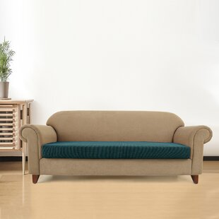 Plaid Stretch Box Sofa Sli..