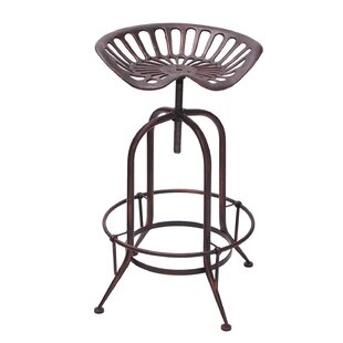 Gracia Adjustable Height Swivel Bar Stool..