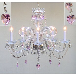 House of Hampton Kanter 5-Light Candle Style Chandelier