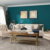 Millman Frame Coffee Table with Storage by 17 Stories