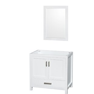 Sheffield 35 Single Bathroom Vanity Base by Wyndham Collection
