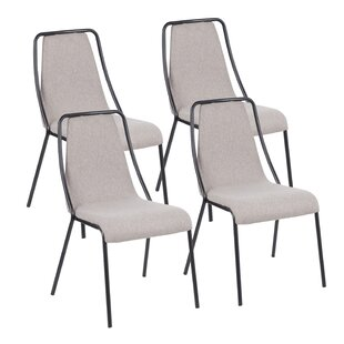 Ebern Designs Beckenham Contemporary Upholstered Dining Chair (Set of 4)