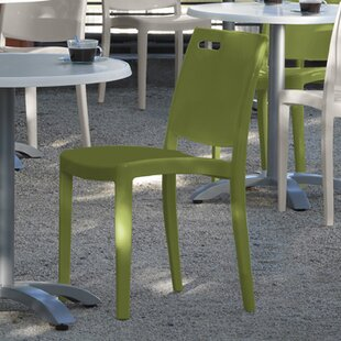 Metro Stacking Patio Dining Chair (Set of 4)