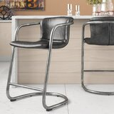 Geneva Upholstered Bar & Counter Stool (Set of 2) by 17 Stories