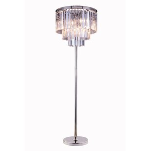 Crystal Floor Lamps | Wayfair