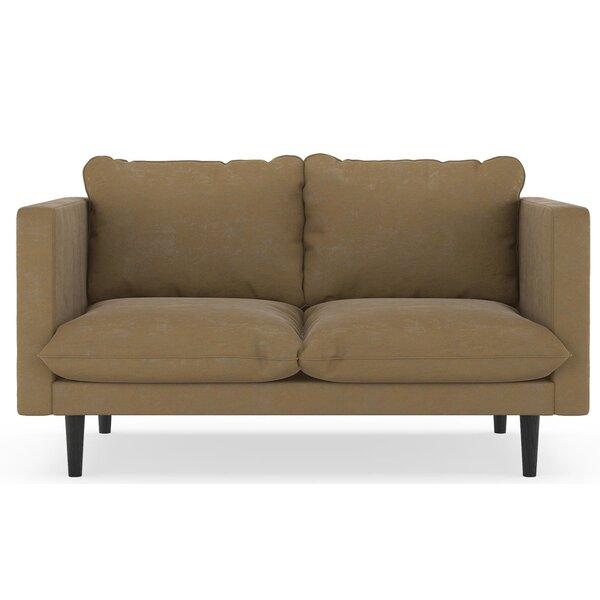 Groovy Microfiber Suede Loveseat Wayfair Andrewgaddart Wooden Chair Designs For Living Room Andrewgaddartcom