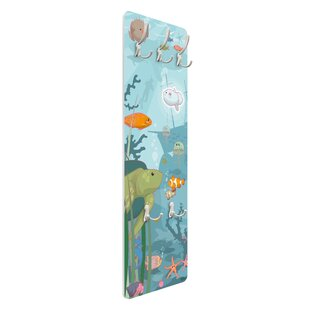 Seascape Wall Mounted Coat Rack By Symple Stuff