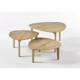 Freya 3 Piece Coffee Table Set By Fjørde & Co