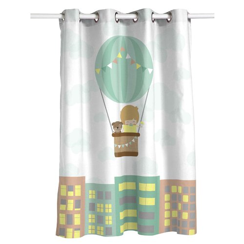 Yazzie Eyelet Semi Sheer Thermal Curtain Isabelle and Max