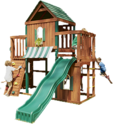 Wood Swing Sets