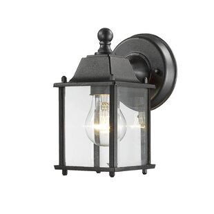 Charlton Home Digennaro 1-Light Outdoor Wall Lantern