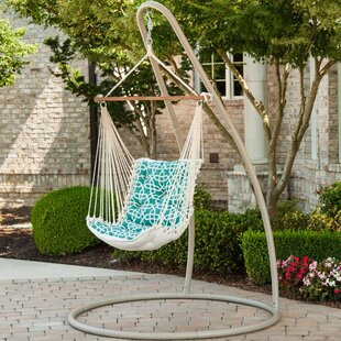 Bungalow Rose Dinh Tufted Single Sunbrella Chair Hammock