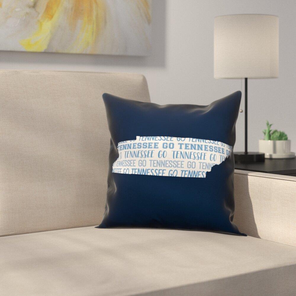 East Urban Home Tennessee Go Team Throw Pillow Wayfair