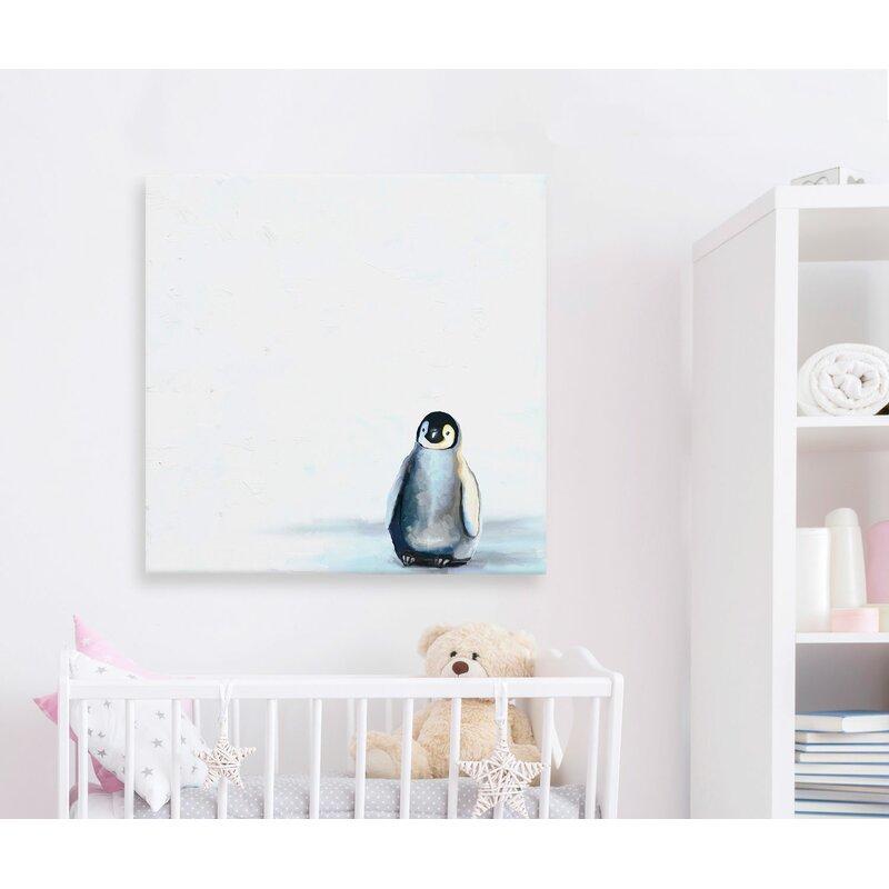 Harriet Bee Jereme Baby Penguin Canvas