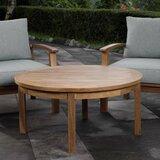 Elaina Solid Wood Coffee Table
