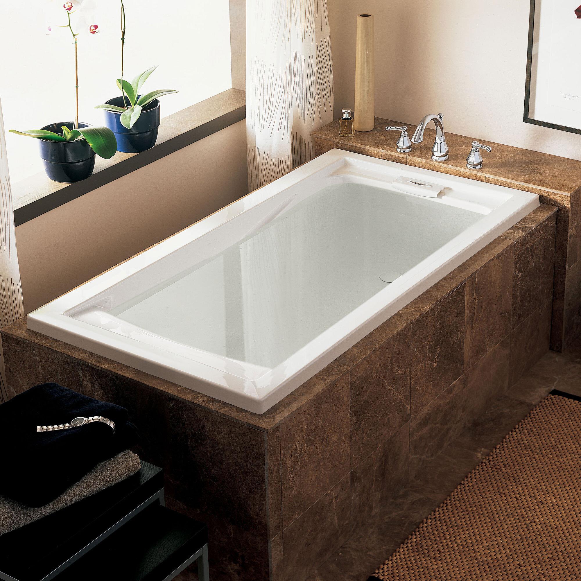 American Standard Evolution 60 X 32 Drop In Whirlpool Bathtub Reviews Wayfair Ca