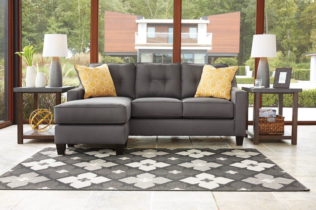 Aldie Reversible Sleeper Sectional : sectional bed - Sectionals, Sofas & Couches