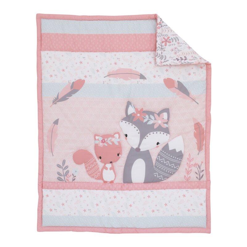 Lolli Living Fox Quilted Comforter Purple