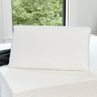 Cool Sleep Firm Latex Gel Fiber Pillow by Alwyn Home Spacial Price