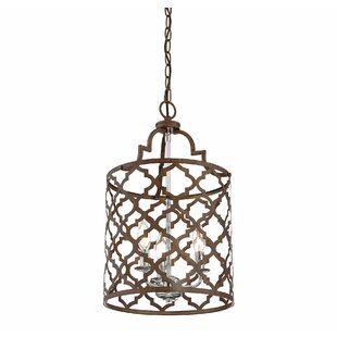 Agueda 3 - Light Lantern Drum Pendant