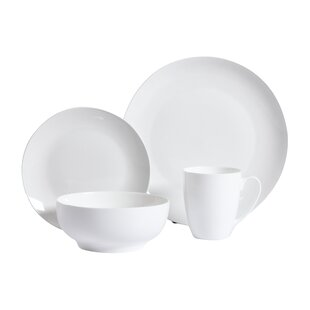 Woodruff 16 Piece Dinnerware Set Service for 4  sc 1 st  AllModern & Dinnerware Sets - Modern u0026 Contemporary Designs | AllModern
