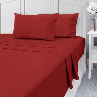Three Posts Linthicum 400 Thread Count 100% Cotton Sheet Set