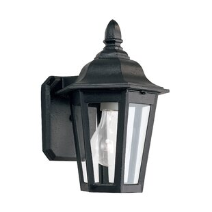 Great choice Redfern 1-Light Outdoor Wall Lantern By Alcott Hill