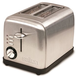 2-Slice Electronic Stainless Steel Toaster