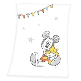 Eric Baby Blanket By Mickey Mouse & Friends