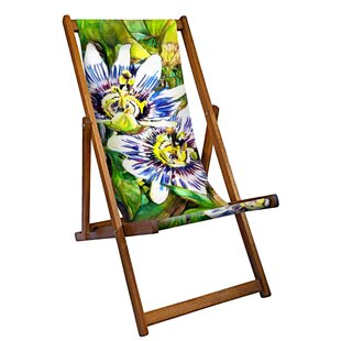 Petworth Reclining Deck Chair By World Menagerie