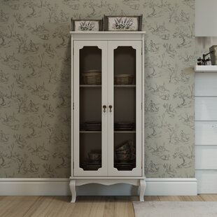Alison Standard Display Cabinet By Three Posts