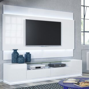 Lasker TV Stand for TVs up to 88 by Latitude Run