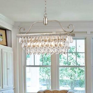 Gerhart 4-Light Crystal Chandelier by Hou..