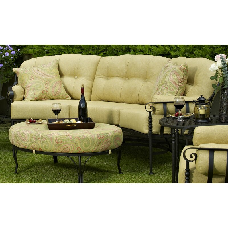 Meadowcraft Athens Sofa With Cushion Wayfair