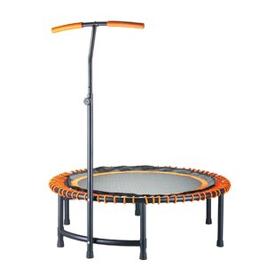 Carla 4' Fitness Trampoline By Freeport Park