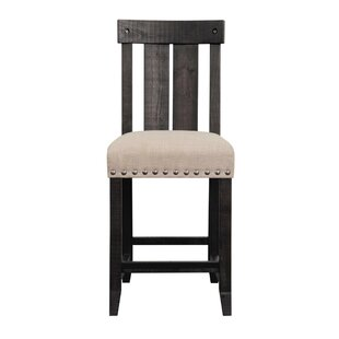 Havant Wooden Counter Height Bar Stool by Gracie Oaks