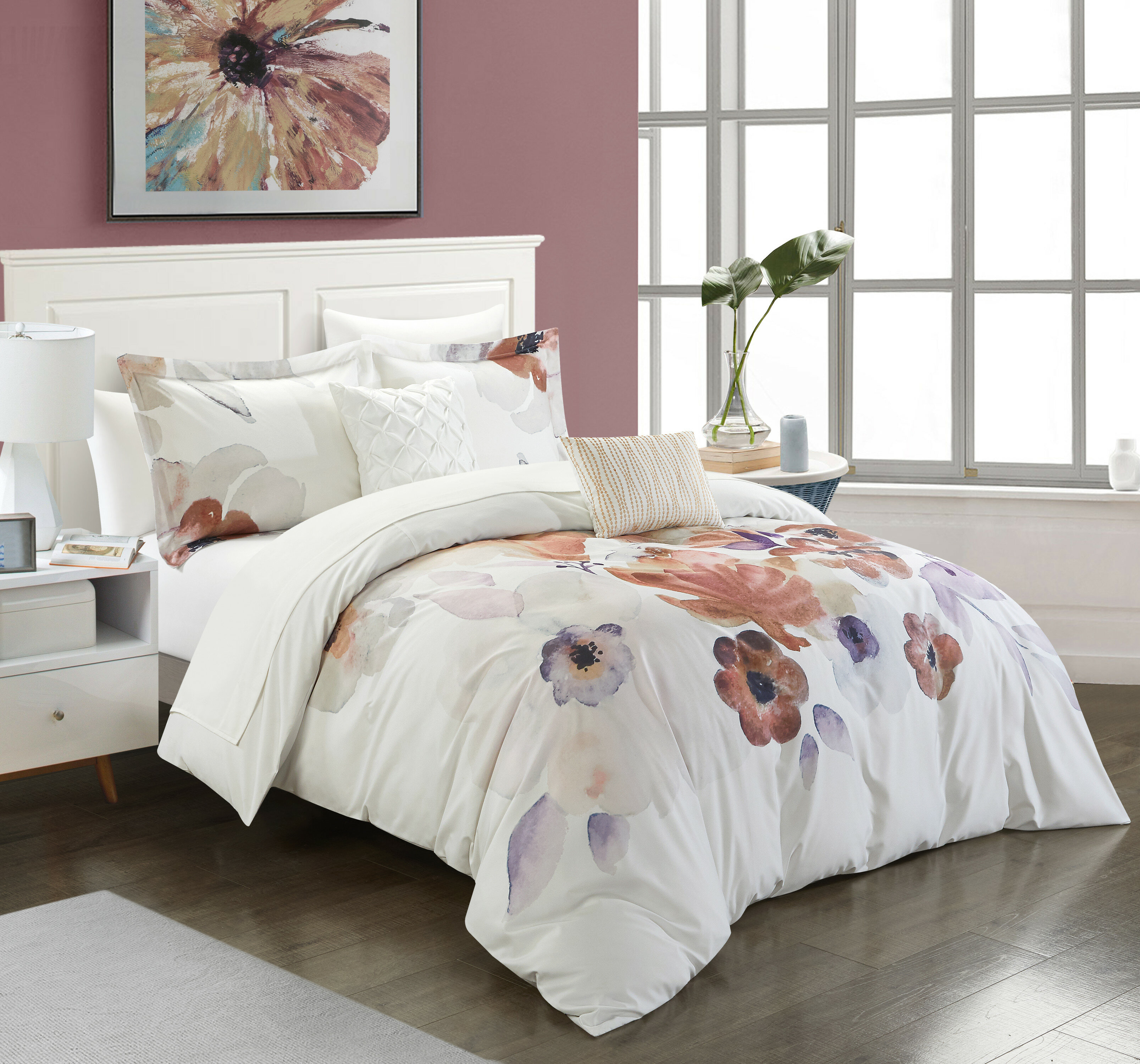 Comforters Bedding Sets Home Garden Bedroom Comforter Set 9pc Bed In A Bag With Sheets Guest Suite Master Bedding