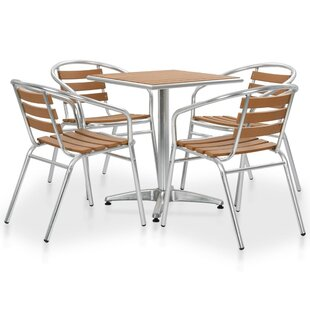 Chavez 4 Seater Dining Set By Sol 72 Outdoor