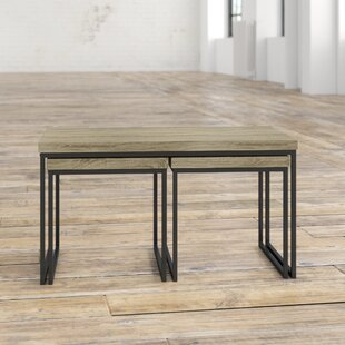 Means 3 Piece Coffee Table Set By Borough Wharf
