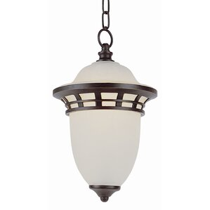 Nita 1 Light Contemporary Outdoor Pendant