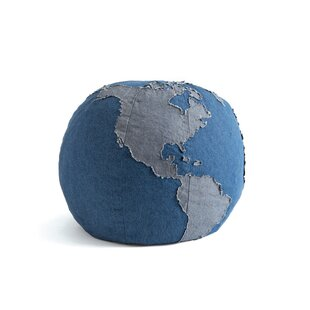 Comparison Aledo One World Pouf By Mack & Milo