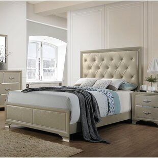 House of Hampton Ireland Queen Upholstered Panel Bed