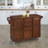 Stroman Kitchen Cart by August Grove®