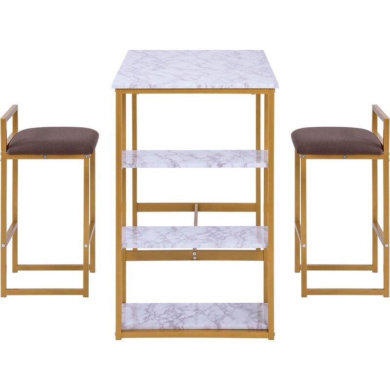 Fairmont Park Essgruppe Jovany mit 2 Stühlen