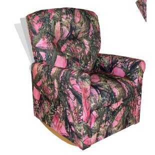 Superieur Pink Camo Kids Recliner | Wayfair