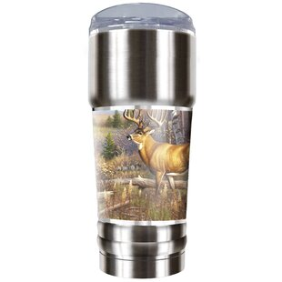 Whitetail Traditions 32 oz. Stainless Steel Travel Tumbler